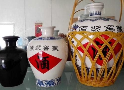 陶瓷瓶散酒